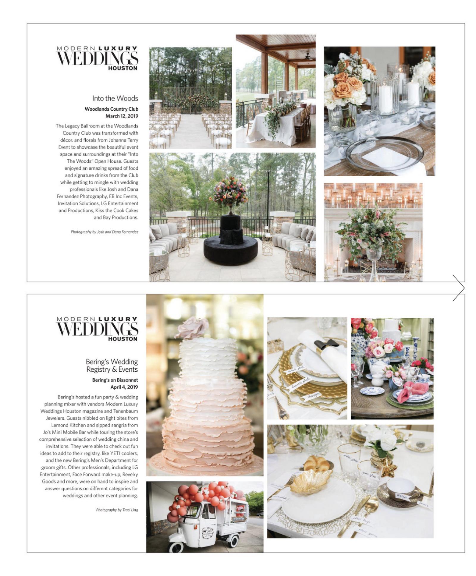 Johanna Terry Events | Modern Luxury Weddings Houston